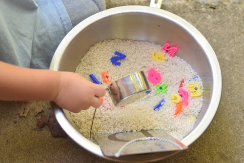 dry rice and measuring (1)