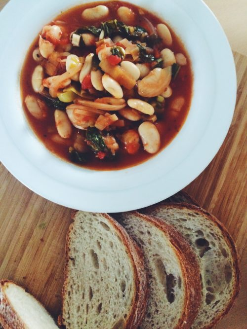 German Butter Beans and Bread Alison Chino